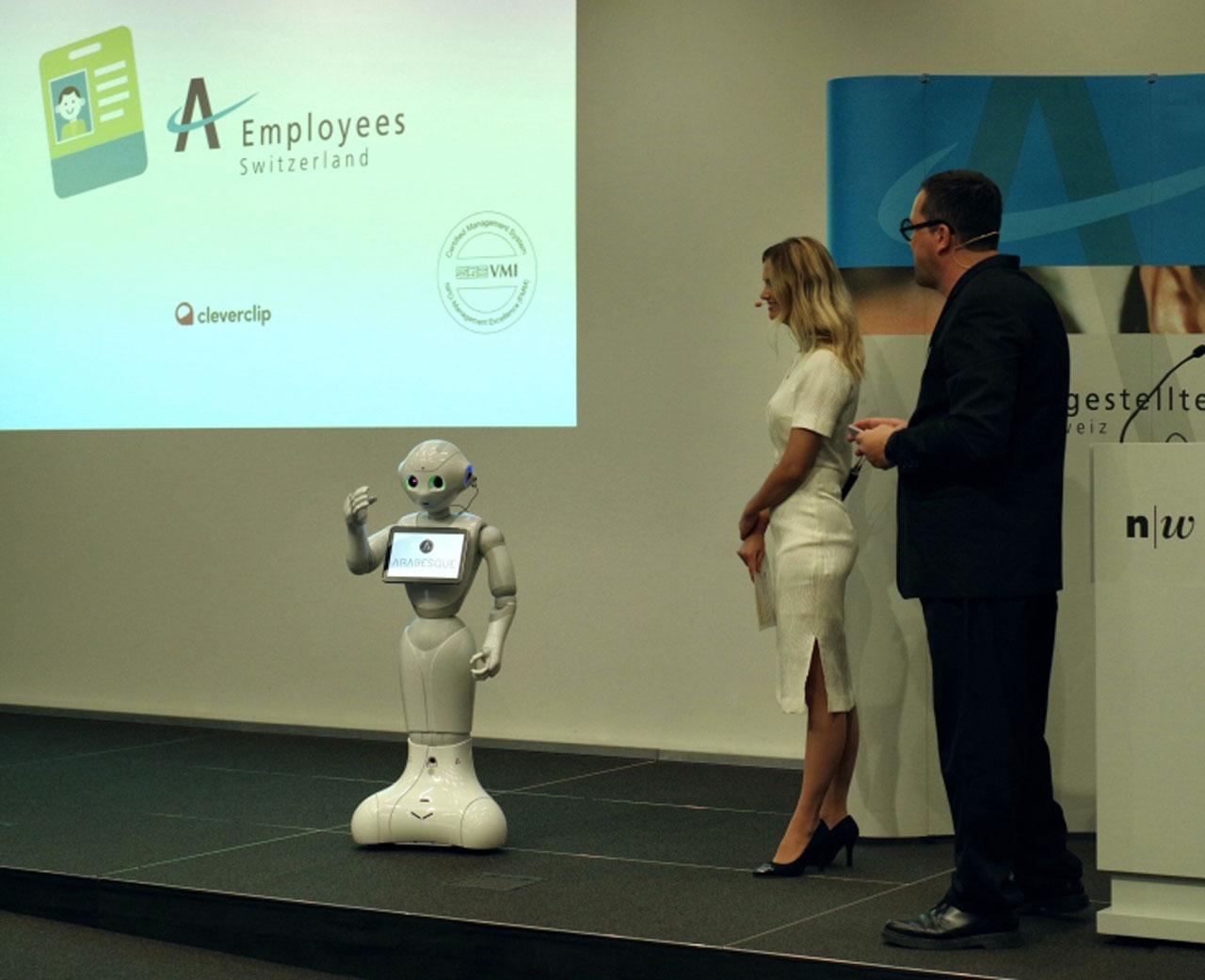 Swiss union admits robot